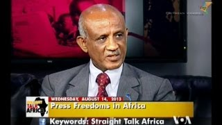 Eritrea Freedom Of The Press Discussion With Ambassador Tesfamicael Gerahtu