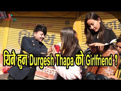 (Durgesh को Birthday मा संगै देखिने को हुन् ?  पत्रकारले Girlfriend भन्दा भागिन् - Duration: 17 minutes.)