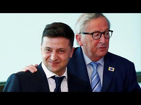 Ukraine/EU: Neuer ukrainischer Präsident Selenskyj be ...