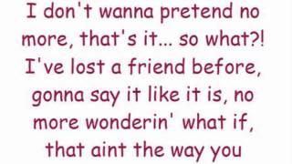 Cher Lloyd Love Me For Me - Lyric Video
