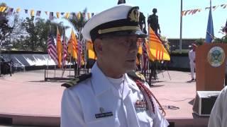 Ngày Vinh Danh Quân Lực VNCH Tại Đài Chiến Sĩ Việt-Mỹ, Westminster, Orange County 2013 - P1