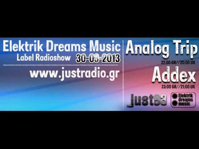 Analog trip guest mix justradio gr 30 03 2013 deep house for Deep house music songs