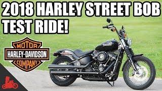 7. 2018 Harley-Davidson Street Bob Test Ride!