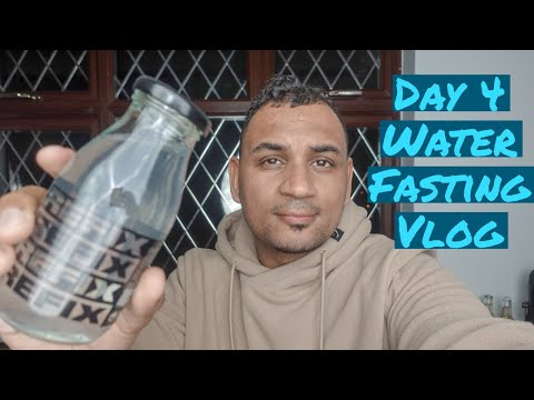 Water Fasting Vlog - Day 4
