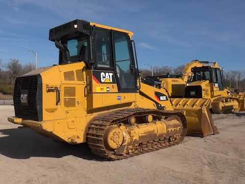 CATERPILLAR ŁADOWARKI GĄSIENICOWE 963K equipment video BEKPc5T6fmQ