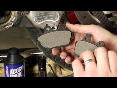 How to Install Brake Pads on a Harley-Davidson Road Glide by J&P Cycles
