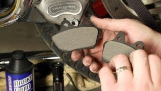 9. How to Install Brake Pads on a Harley-Davidson Road Glide by J&P Cycles