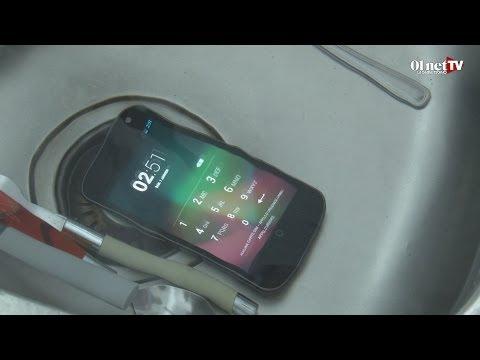 Smartphone tomb� dans l'eau : que faire ? Voici le