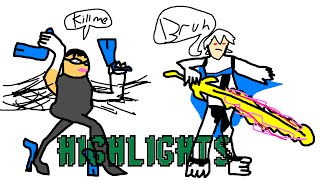 Check out my friends little brothers Bayonetta and Corrin highlights video – [4:09]