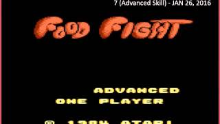 Food Fight: Advanced (Atari 7800 Emulated) by oyamafamily