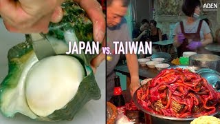 Video Japan vs. Taiwan - Street Food in Asia MP3, 3GP, MP4, WEBM, AVI, FLV Juni 2019