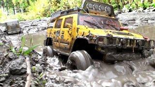 RC TRUCK OFF Road 4x4 MUD Terrain - Tamiya Truck 6x6, Hummer, Axial SCX10 Honcho