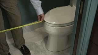 How Much Space Should Be in Front of a Toilet? : Bathroom Remodeling