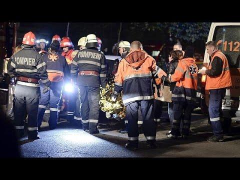 Ρουμανία: Οι πρώτες δραματικές στιγμές μετά την πυρκαγιά στο κέντρο διασκέδασης