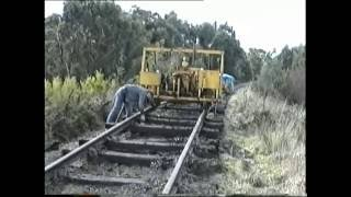 Meeniyan Australia  city pictures gallery : Stony Creek Meeniyan Rail Removal South Gippsland Railway 1994