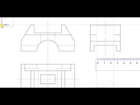 Hướng dẫn vẽ kĩ thuật cơ khí xây dựng_Phần 2: Vẽ hình chiếu cạnh
