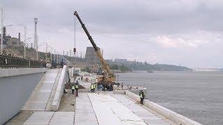 Новая набережная Волгограда