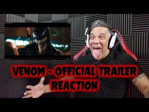 VENOM Official Trailer - REACTION