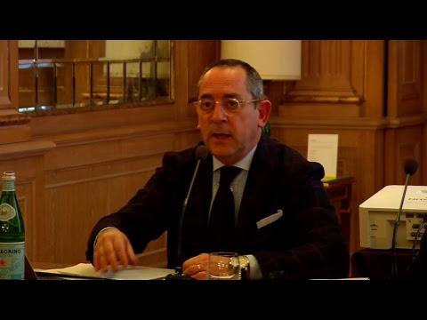LBA, la conferenza stampa del presidente Egidio Bianchi