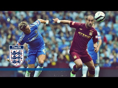 Man City 3-2 Chelsea - Community Shield 2012 | Goals & Highlights
