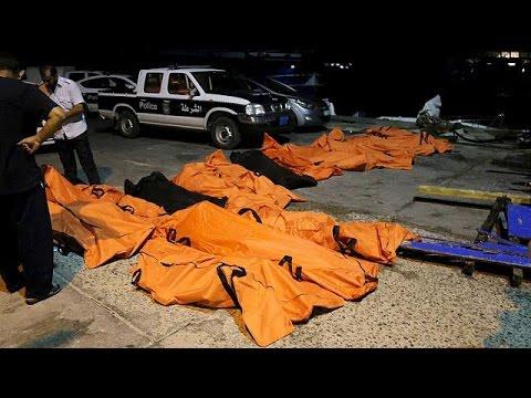 Ναυάγιο με 200 νεκρούς μετανάστες ανοικτά της Λιβύης