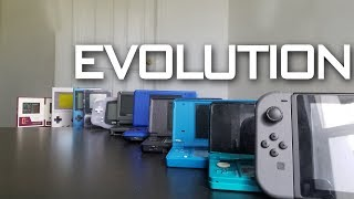 Evolution Of Nintendo Handhelds 1980 - 2017