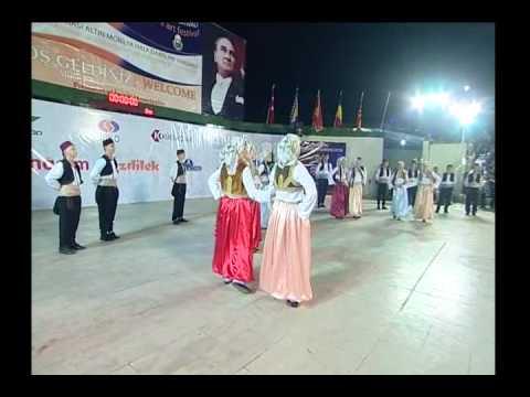 23. İnegöl Belediyesi Uluslararası Kültür Sanat Festivali Halk Dansları Gösterisi