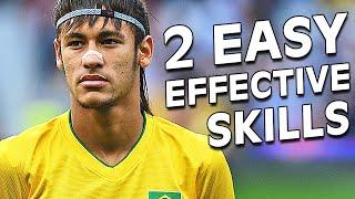 Neymar Skills - 2 Amazing Football Soccer Skill Moves Tutorial