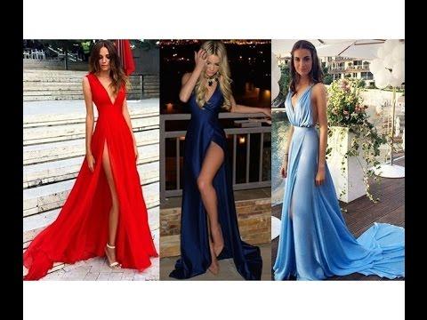 Romantische Abendkleider 2017