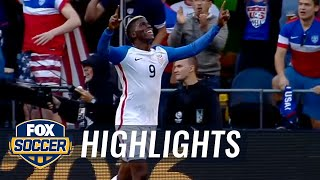 Zardes makes it 2-0 for the USMNT against Ecuador | 2016 Copa America Highlights by FOX Soccer