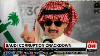 Ali Shihabi speaks with CNN's Fareed Zakaria about Saudi Arabia's corruption crackdown