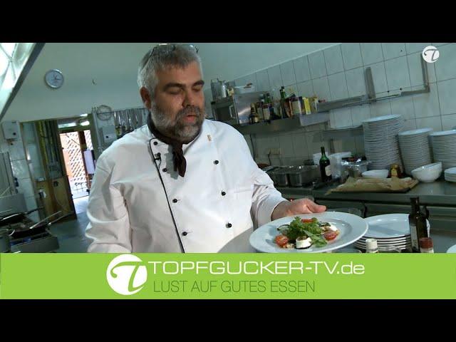 Gefüllte Büffelmozzarella - Rolle   Rezeptempfehlung Topfgucker-TV