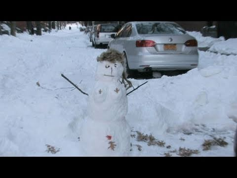 A Slow NYC Snow Cleanup - New York Post