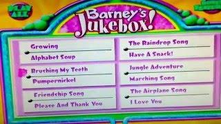 barney songs 1995