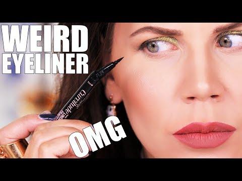 CURVED EYELINER ??? ... OMG