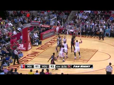 NBA Highlights: Heat @ Rockets 3/4/2014