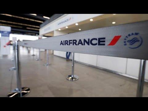 العرب اليوم - بالفيديو: إضراب في الخطوط الفرنسية
