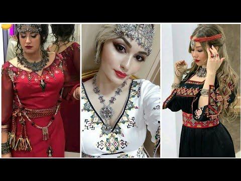 Magnifiques robes kabyle avec broderie mariée 2021🇩🇿👍👌