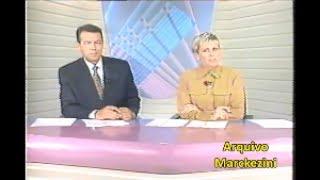 Boa parte do Jornal do SBT, apresentado por Leila Cordeiro e Eliakim Araújo.A data eu não sei, deixo com vocês.Março de 1996.