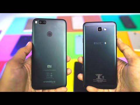 Samsung On7 Prime vs MI A1 Speed Test, Memory Management test and Benchmark Scores