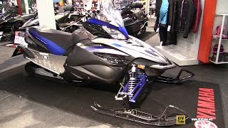 8. 2016 Yamaha Apex Sled - Walkaround - 2015 Toronto Snowmobile & ATV Show