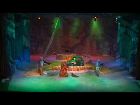 Музыкально-цирковое представление  для детей 'Новогодние Тачки-2'