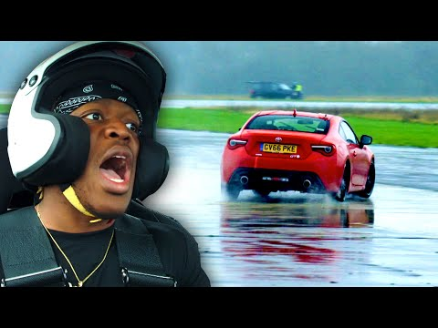 KSI slides on the Top Gear track   Star in a Reasonably Fast Car   Top Gear: Series 28