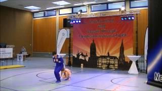 Christina Bischoff-Moos & Lukas Moos - Landesmeisterschaft Rheinland-Pfalz und Saarland 2015
