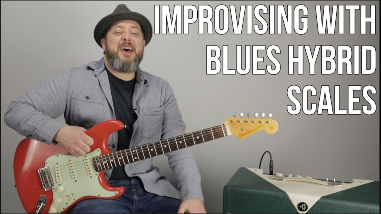 Blues Rock Lead Guitar Lesson – Improvising with Hybrid Blues Scales