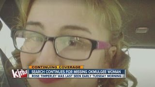 Okmulgee (OK) United States  City new picture : Search continues fcr missing Okmulgee woman