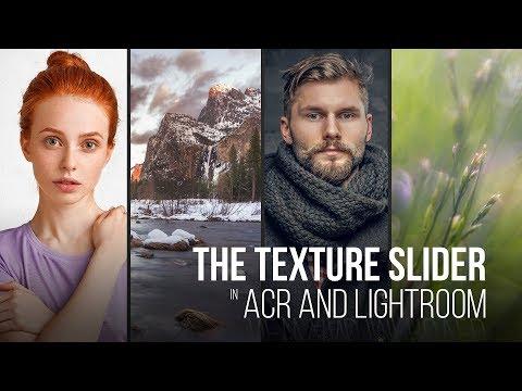 Texture Slider in Adobe Camera Raw Best Practices