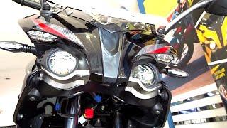 Video #Bikes@Dinos: Bajaj Pulsar RS 200 Demon Black Walkaround Review MP3, 3GP, MP4, WEBM, AVI, FLV Oktober 2017