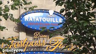 Disneyland Paris Ratatouille The Adventure on-ride DisneyOpa Pixar Complete Tour Gusteau