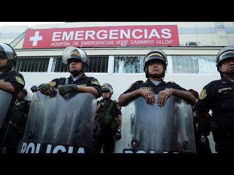 Peru: Alan Garcia, ehemaliger Präsident, erschießt si ...